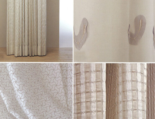 New collections of Italian curtains