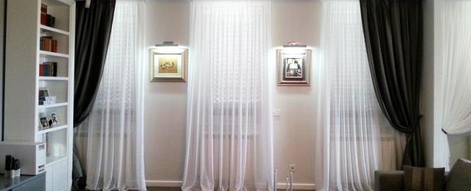 Zavese, za dekoraciju i zaštitu privatnosti.