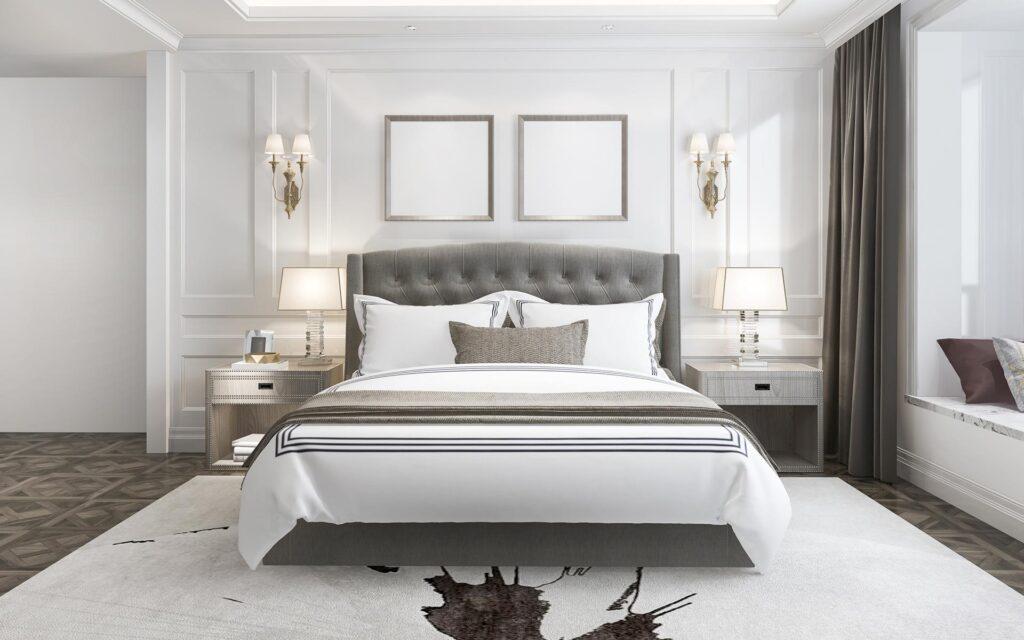 Stilizovana spavaca soba